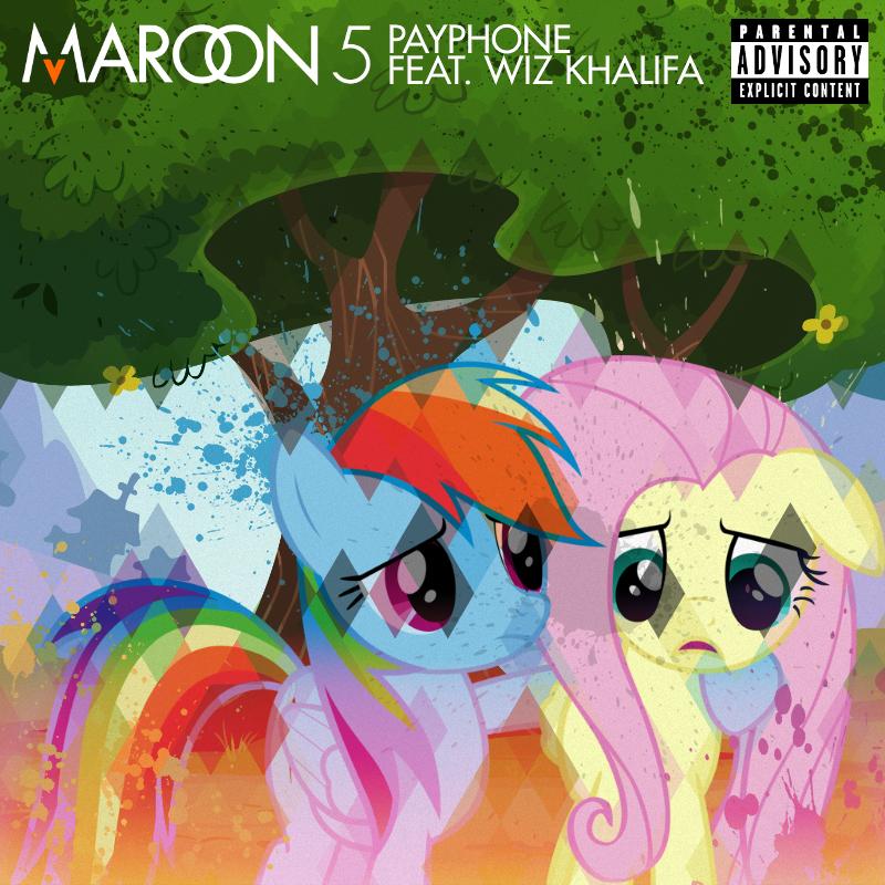 Maroon 5 / Wiz Khalifa - Payphone (RD / FS) by AdrianImpalaMata