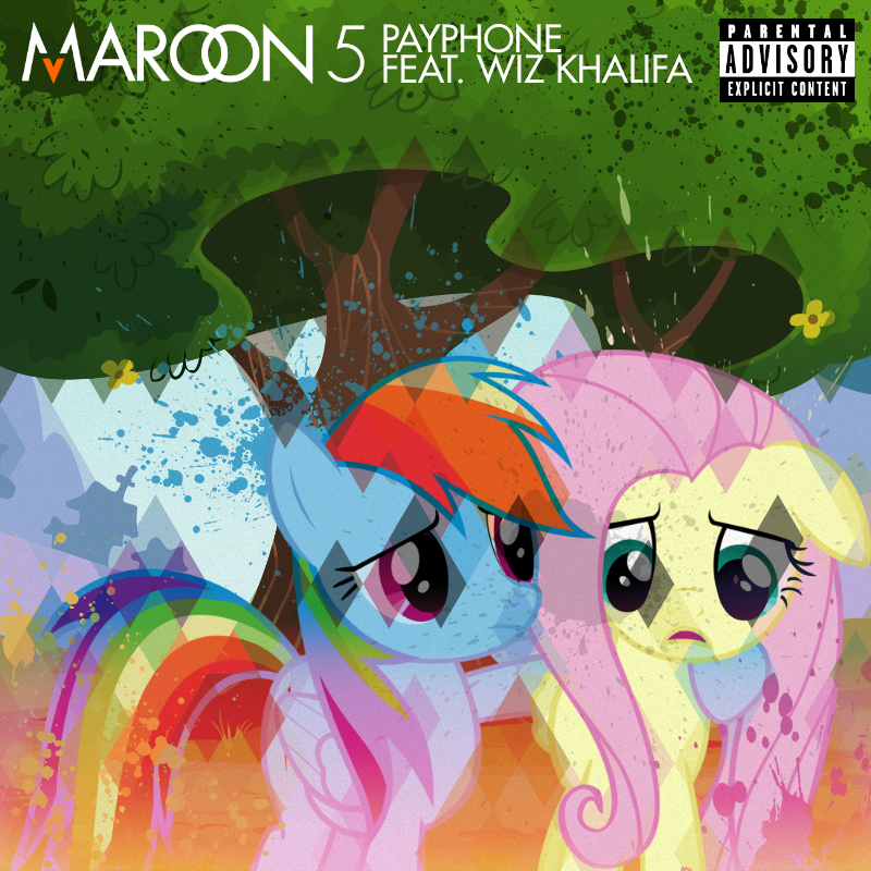 Maroon 5 / Wiz Khalifa - Payphone (RD / FS) by impala99