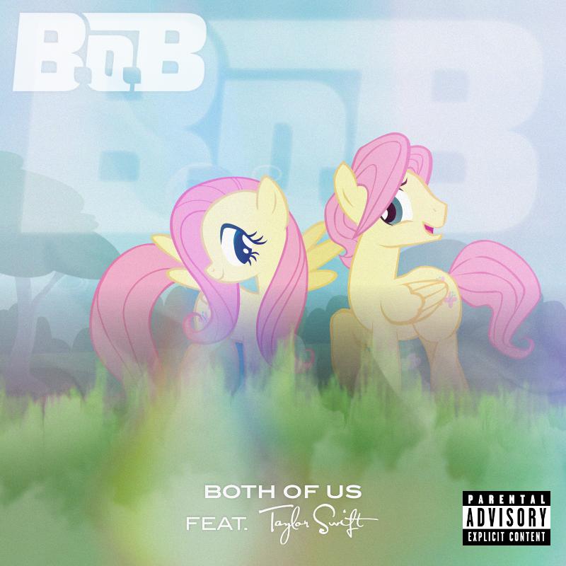 B.o.B / Taylor Swift - Both of Us (Fluttershy) 2.0 by AdrianImpalaMata