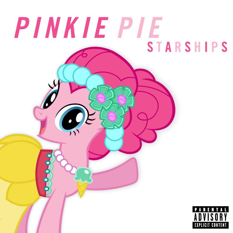 Nicki Minaj - Starships (Pinkie Pie) by AdrianImpalaMata