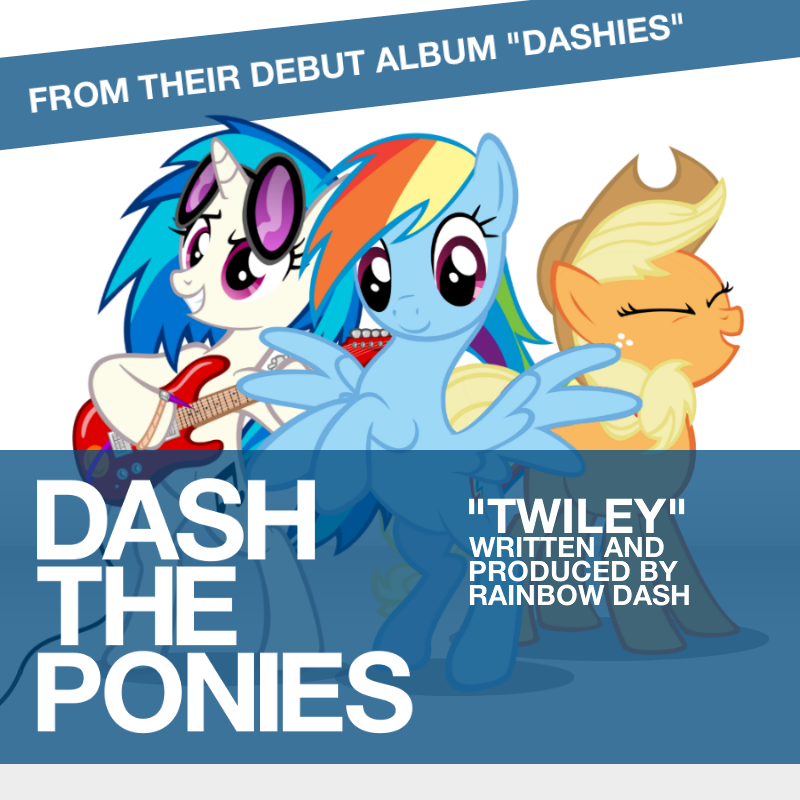 Dash the Ponies - Twiley ('Houdini' pony parody) by AdrianImpalaMata