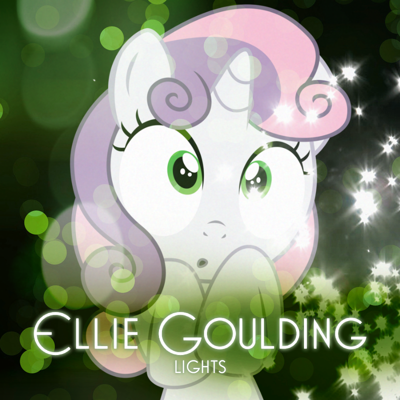 Ellie Goulding - Lights (Sweetie Belle) by AdrianImpalaMata