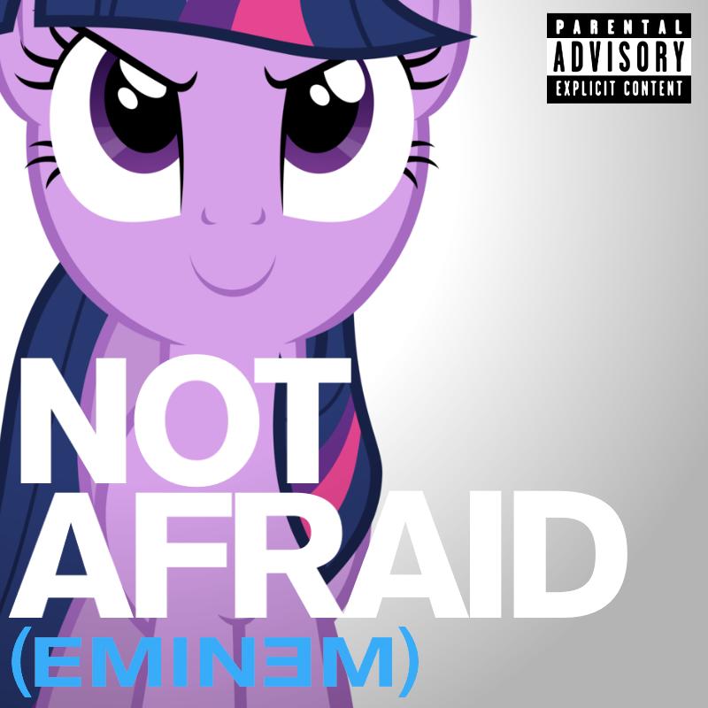 Eminem - Not Afraid (Twilight Sparkle) by AdrianImpalaMata