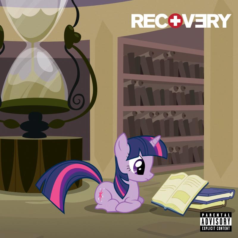 Eminem Recovery Deluxe Album Cover