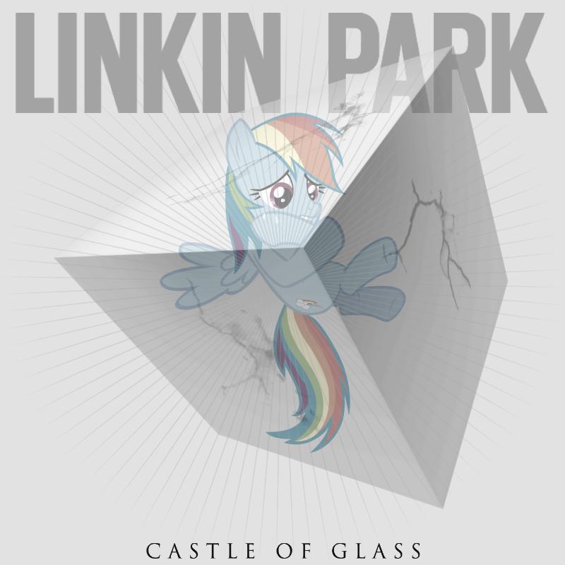 Linkin Park - Castle of Glass (Rainbow Dash) by impala99