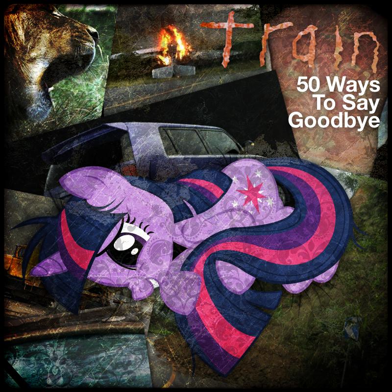 Train - 50 Ways to Say Goodbye (Twilight Sparkle) by impala99