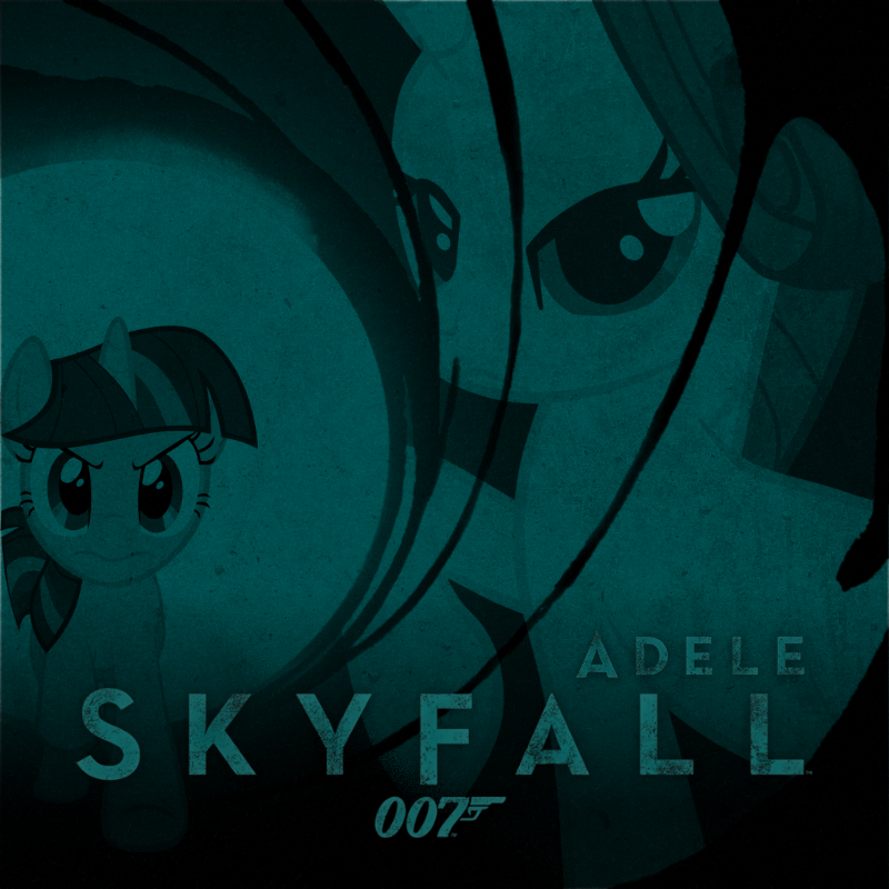 Adele - Skyfall (Rarity and Twilight Sparkle) by AdrianImpalaMata