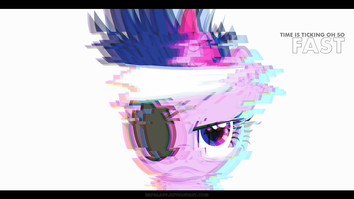 Time is ticking oh so fast (Twilight Sparkle - WP) by impala99