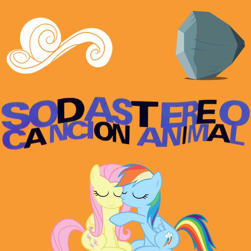 Soda Stereo - Cancion Animal (My Little Pony) by AdrianImpalaMata