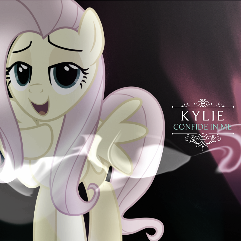 Kylie Minogue - Confide in Me (Fluttershy) by AdrianImpalaMata