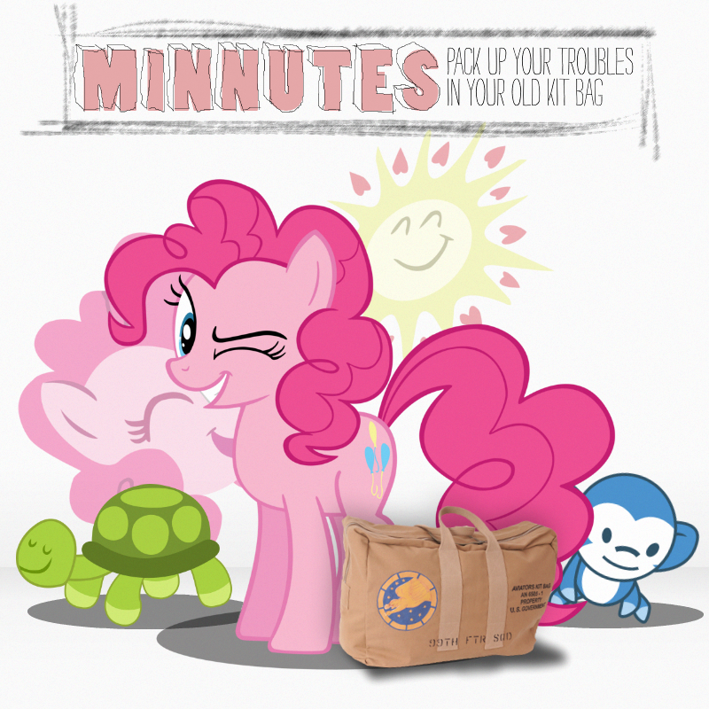 Minnutes - Pack Up Your Troubles (Pinkie Pie) by AdrianImpalaMata