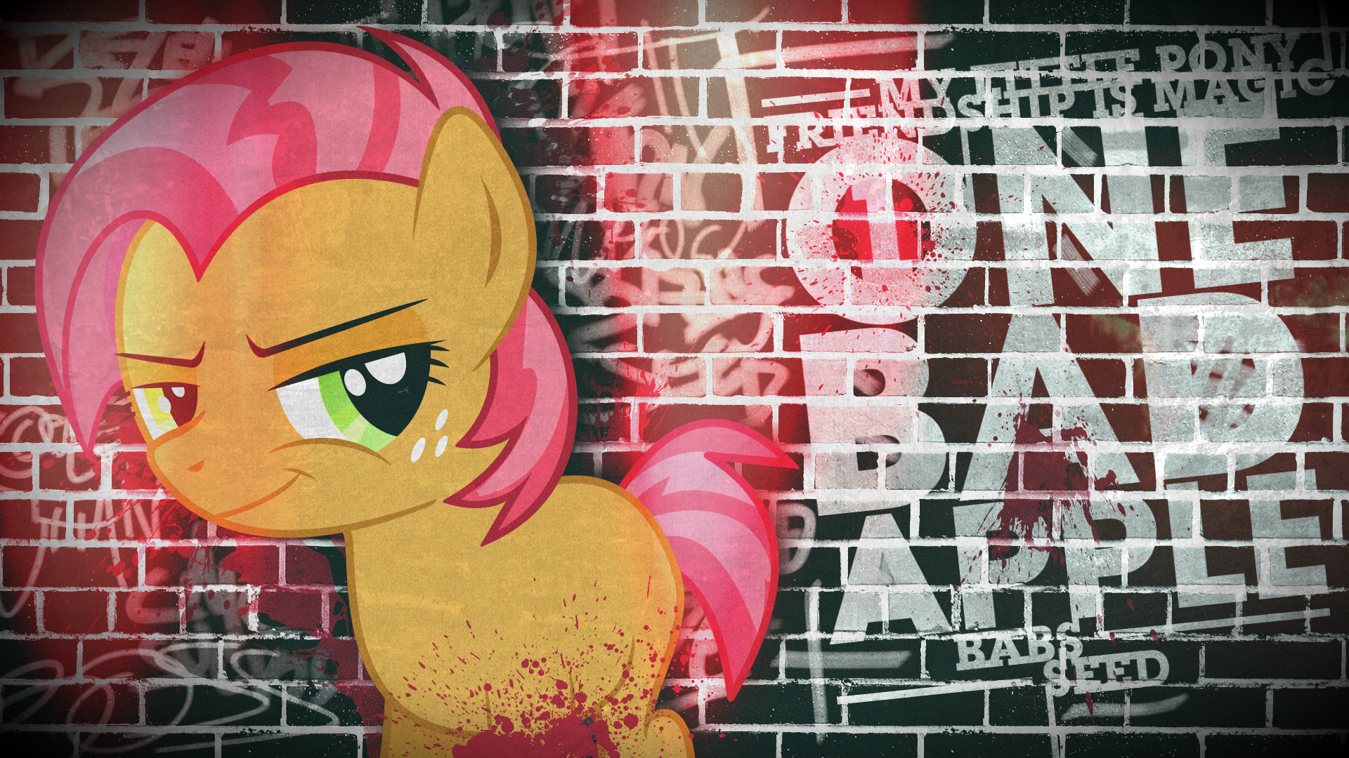 Babs Seed - One. Bad. Apple. (Wallpaper)