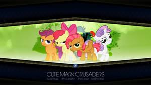 Cutie Mark Crusaders + Babs Seed (Wallpaper)