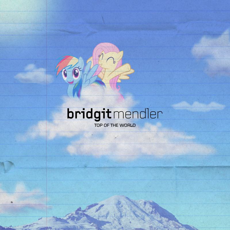 Bridgit Mendler - Top of the World (RD/Fluttershy) by AdrianImpalaMata