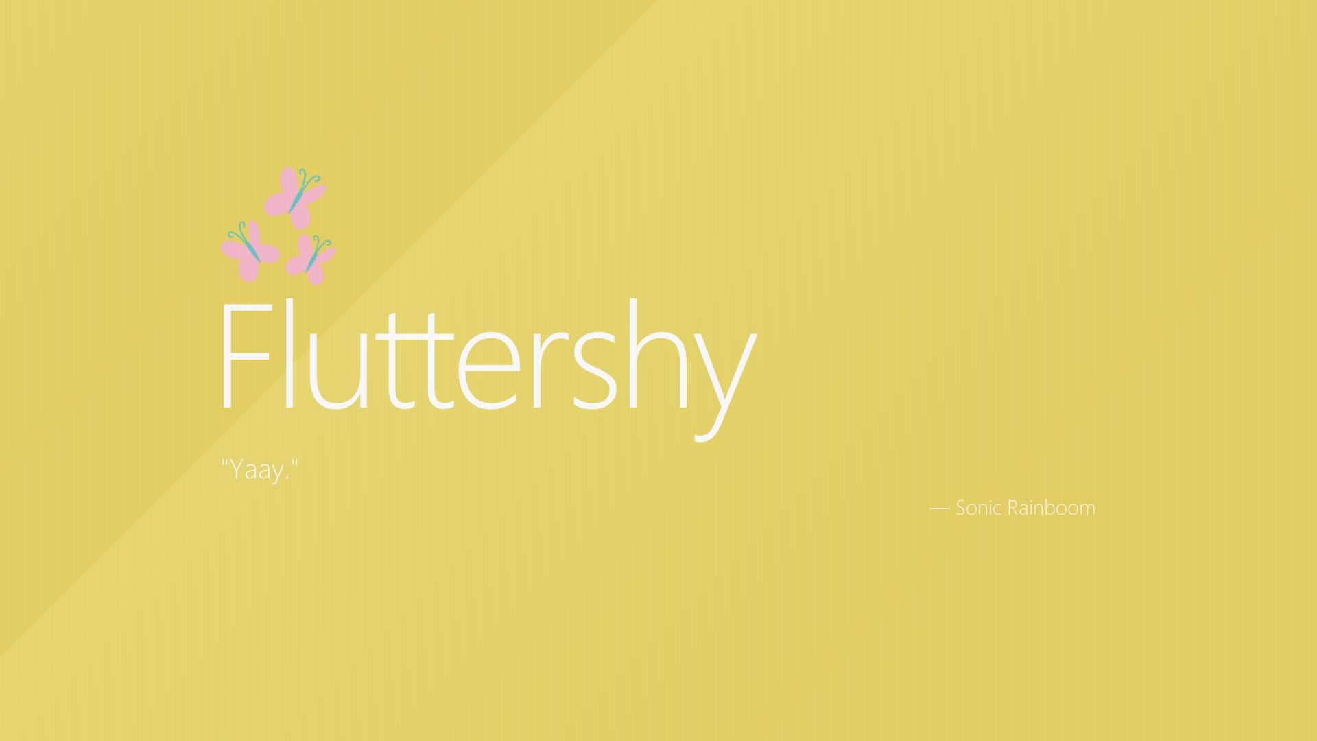 fluttershy windows wallpaper - photo #10