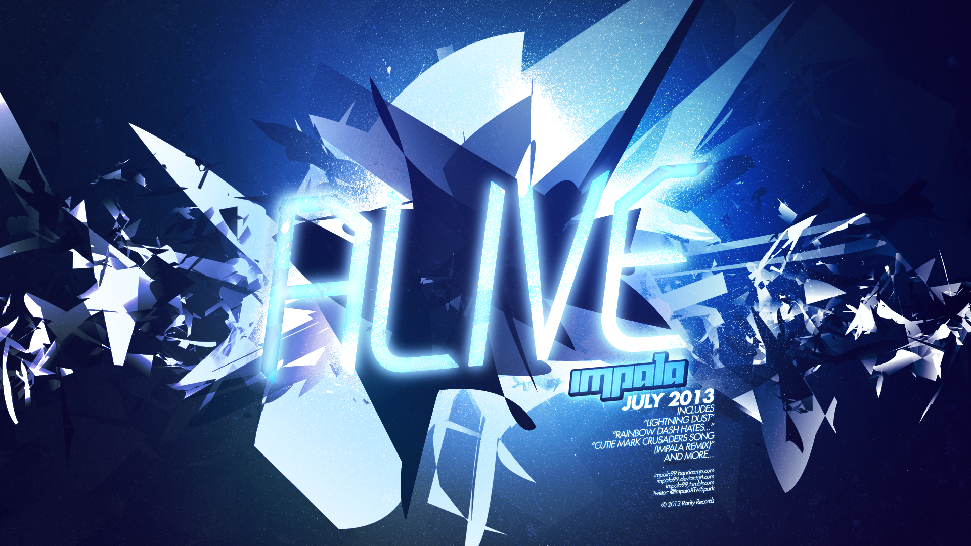 Alive [DEBUT ALBUM, JULY 2013] by AdrianImpalaMata