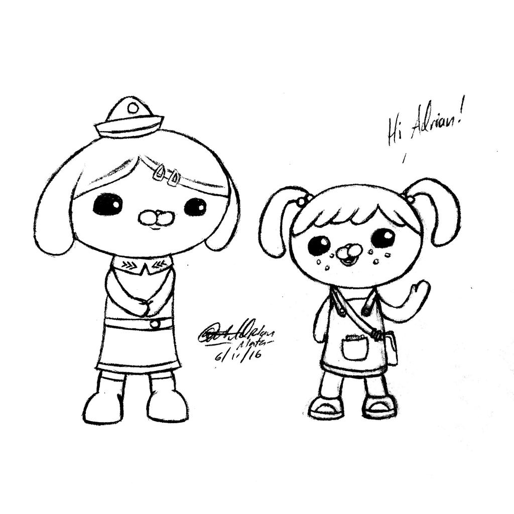 octonauts coloring pages dashi granules - photo#26