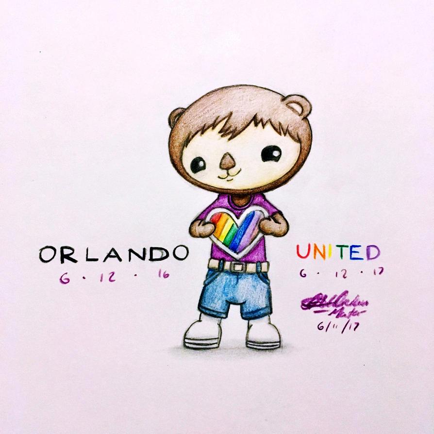 #OrlandoUnited (2017) by AdrianImpalaMata