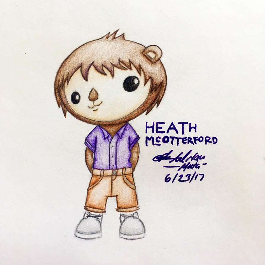 OC: Heath McOtterford by AdrianImpalaMata
