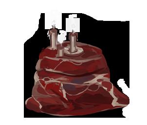 Meat Cake by ChildrenOfNirvana
