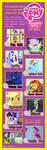Top 10 My Little Pony characters meme by JasperPie