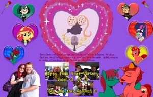 Happy 4 Year-Versary, Tanya!! by JasperPie