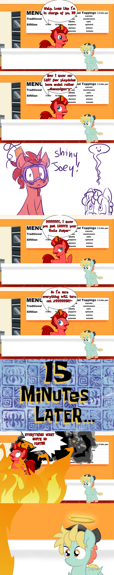 Jasper Babysits BB comic by DaJoestanator
