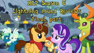 MLP Season 6 Lightning Round finale Title Card