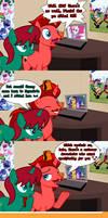 Jasper and Harmony react to Mirror Magic (Spoiler)