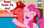 Happy Pinkie Pie day from Jasper Pie!