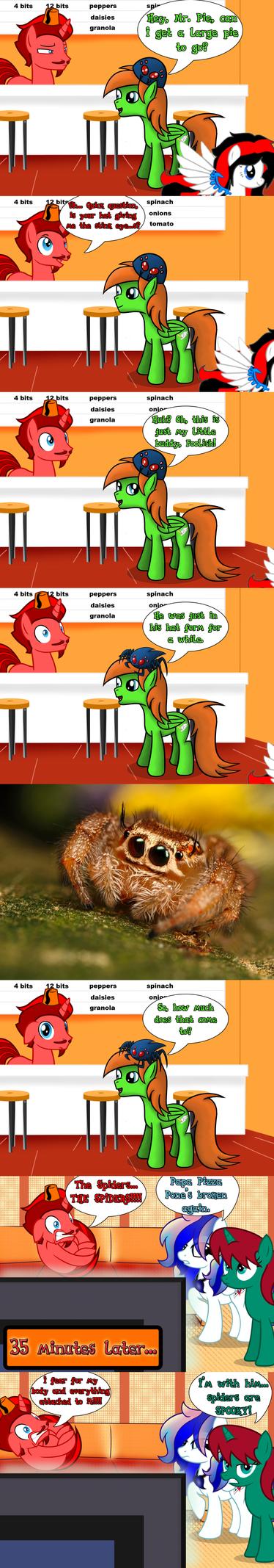 CMSN: Itsy Bitsy Spider-Hat by JasperPie
