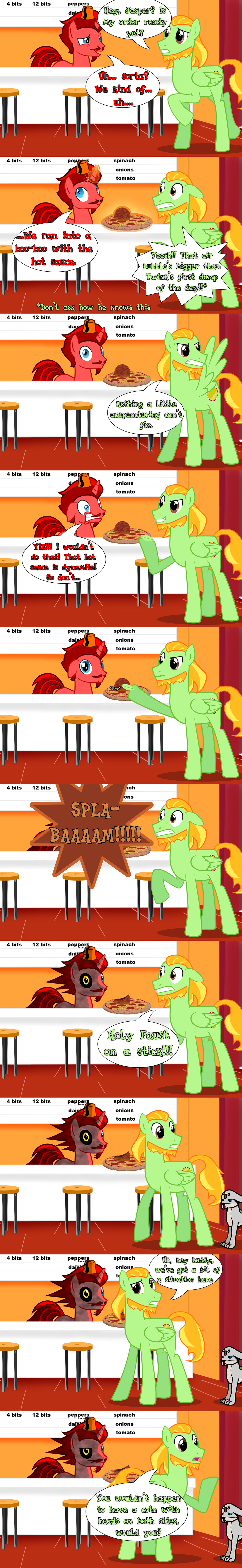 CMSN: Bubble, Bubble, Hot Sauce Trouble by JasperPie