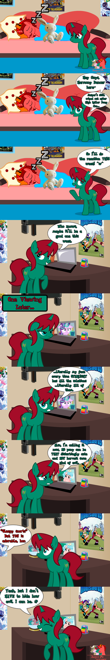 Harmony Reacts to Marks for Effort (SPOILERS!!!) by JasperPie