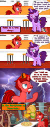 GIFT: Oh How He Likes His Cheeses by JasperPie