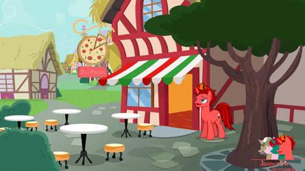 Pie's Pizzeria Exterior by JasperPie