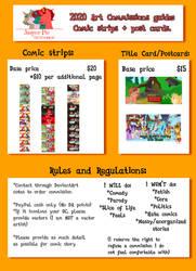 Jasper Pie Comic Commission Guide 2020 by JasperPie