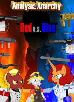 TF2 Analysis: Red Vs. Blue Movie Poster