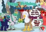 PATREON REWARD: Happy Birthday Silver Quill by JasperPie