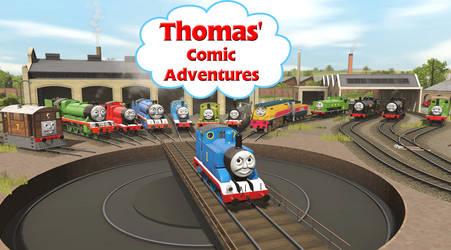 Thomas' Comic Adventures Title Card V3