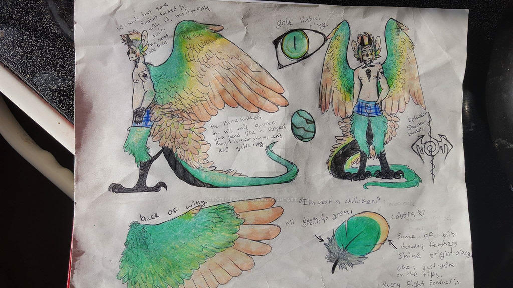 Ren reference by crazed-fangirl-rar