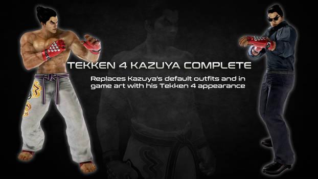 Tekken 4 Kazuya Complete