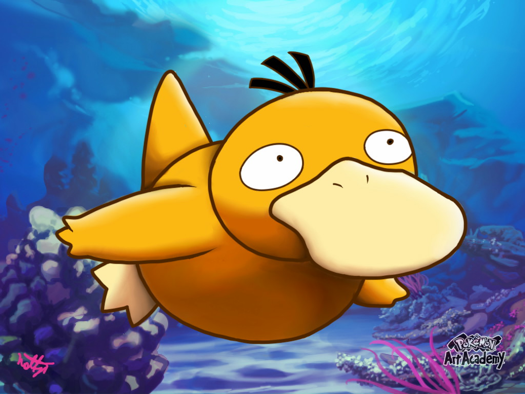 pokemon psyduck wallpaper 1920x1080 - photo #26