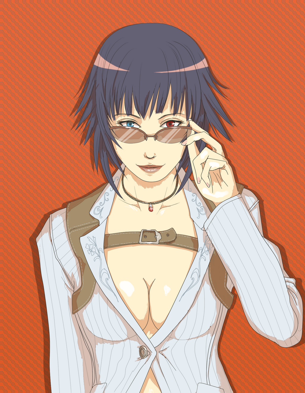 Lady - DMC4 by helyxzero