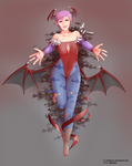 Splendor Love ~ Lilith Aensland (Darkstalkers)