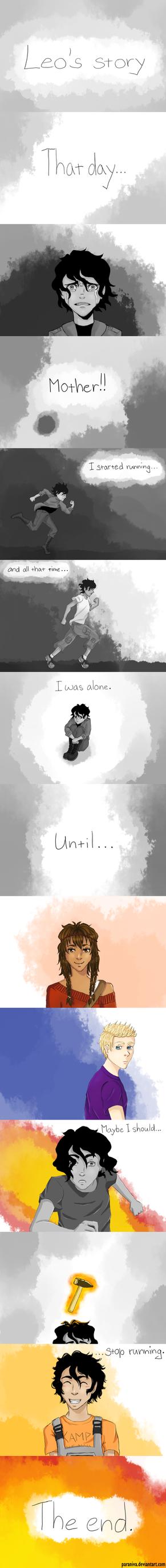 Leo's story by paraniva