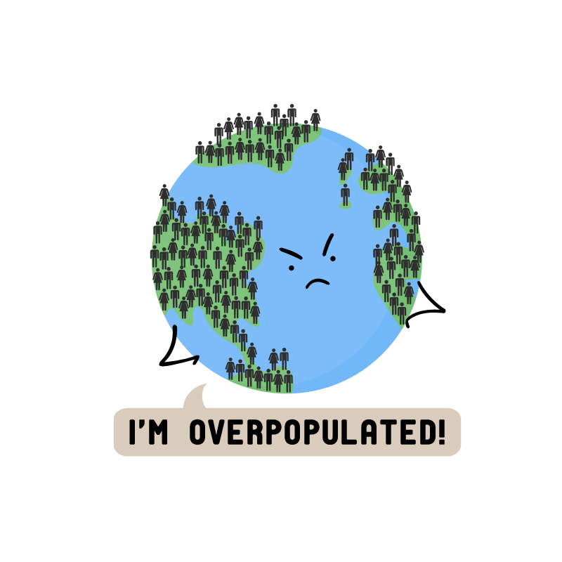 speech on overpopulation and its effects Overpopulation is the condition of any organism's numbers exceeding the carrying capacity of its martin luther king, jr, acceptance speech, margaret.