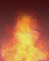 Flame/Cloud Shape Texture Stock 3