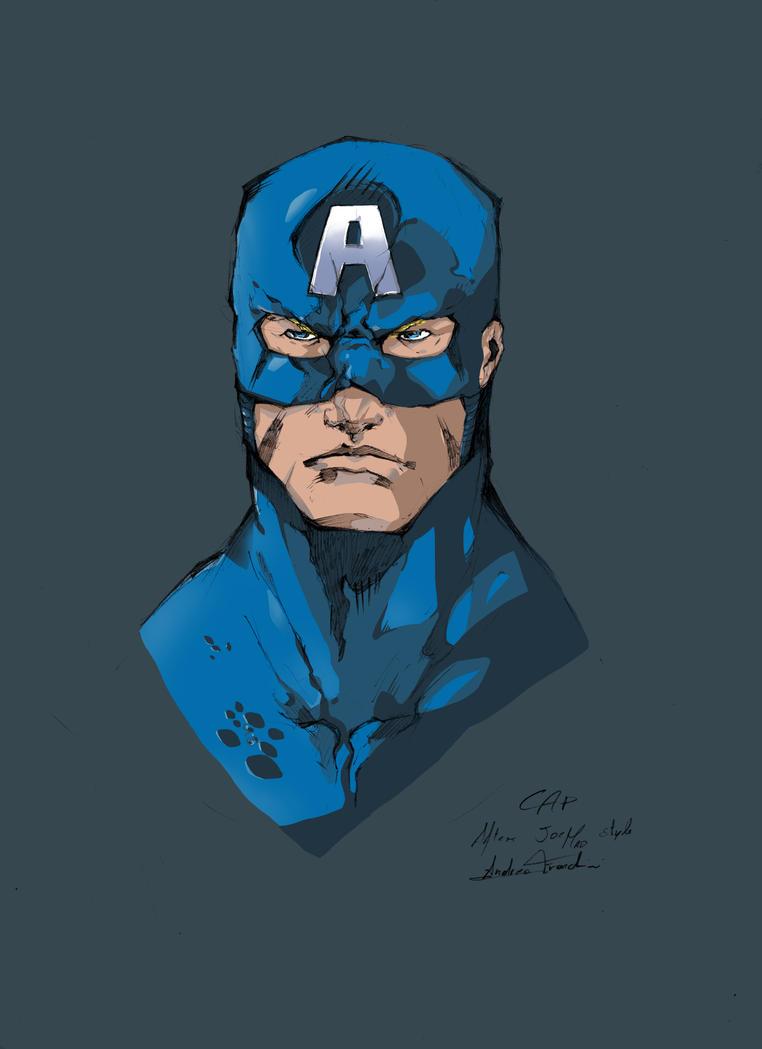 Capitan America - Adren by Adren97