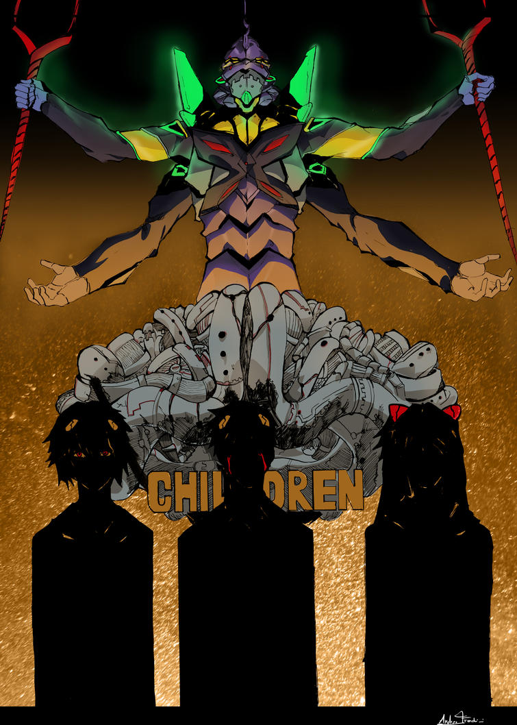 Neon genesis evangelion by Adren97