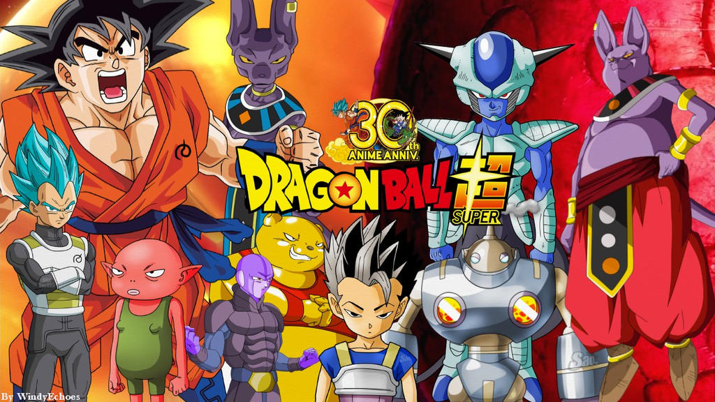 Dragon Ball Super Wallpaper - Universe 6 SAGA #1 by ...
